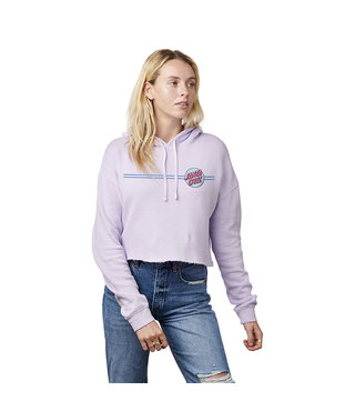 Santa Cruz Other Dot Crop Hoodie - Lavender