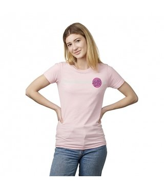 Santa Cruz Other Dot Fitted T-Shirt - Lt. Pnk