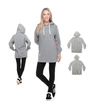 RDS Women's Dress Heidi Hooded - Hthr Grey
