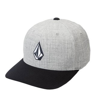 Volcom Full Stone Heather XFit® Hat - Navy Hthr