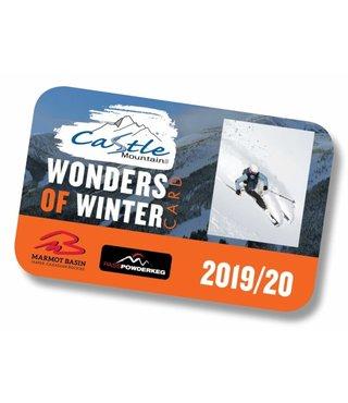 19/20 Castle Mountain Wonders of Winter Card