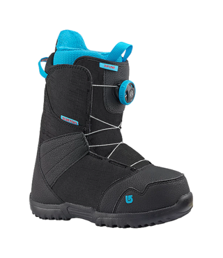 2017 ZIPLINE BOA KID'S SNOWBOARD BOOT - BLACK