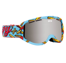 Spy Cadet Pizza vs. French Fries w/ Bronze Silver Spectra Lens Snow Goggle