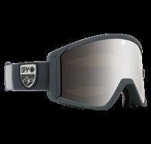 Spy Raider Colorblock Gray w/ HD Bronze Silver Spectra Lens Snow Goggle
