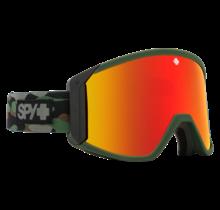 Spy Raider Camo w/ HD Bronze Red Spectra Lens Snow Goggle