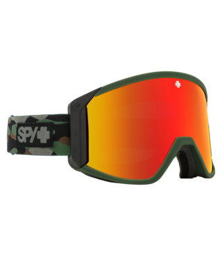 Spy Raider Camo w/ HD Bronze Red Spectra Lens Snow Goggle