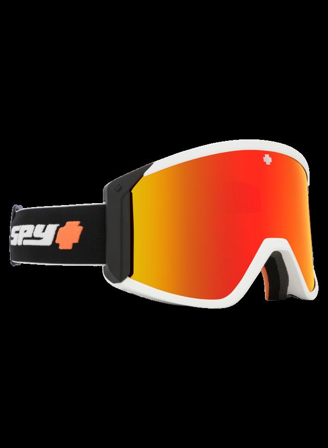 Spy Raider Fireball w/ HD Bronze Red Spectra Lens Snow Goggle