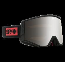 Spy Ace Night Rider Matte Black w/ HD+ Bronze Silver Spectra Lens Snow Goggle
