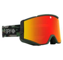 Spy Ace Camo w/ HD+ Bronze Red Spectra Lens Snow Goggle