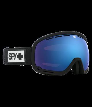 Spy Marshall Matte Black w/ HD+ Rose Dk Blue Spectra Lens Snow Goggle