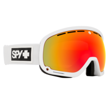 Spy Marshall Matte White w/ HD+ Bronze Red Spectra Lens Snow Goggle
