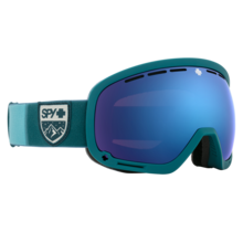 Spy Marshall Colorblock Teal w/ HD+ Rose Dk Blue Spectra Lens Snow Goggle