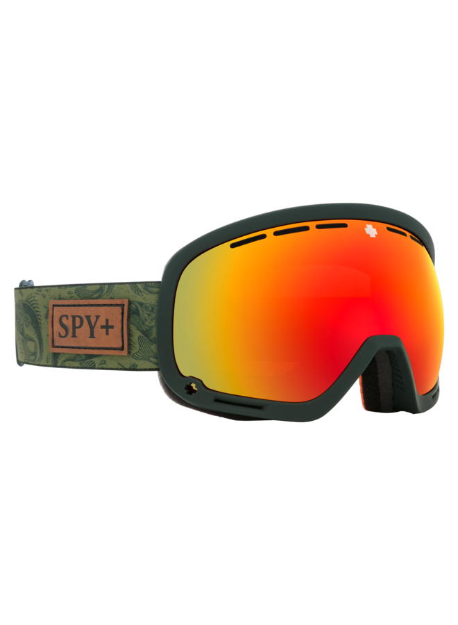 Spy Marshall Gone Fishing w/ HD+ Bronze Red Spectra Lens Snow Goggle