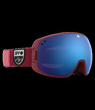 Spy Bravo Colorblock Raspberry w/ HD+ Rose Dk Blue Spectra Lens Snow Goggle