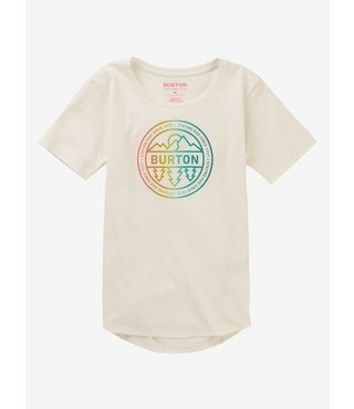 Girls' Burton Callon Short Sleeve T-Shirt - Stout Wht