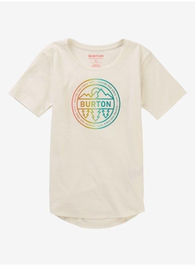 Girls' Burton Callon Short Sleeve T-Shirt - Stout Wht