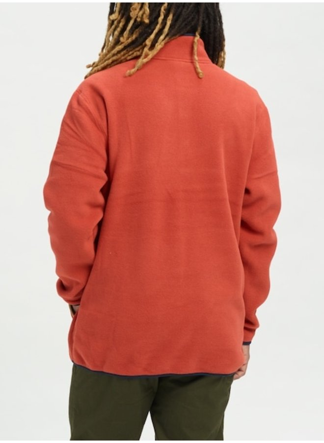 Men's Burton Hearth Fleece Anorak - Tandori
