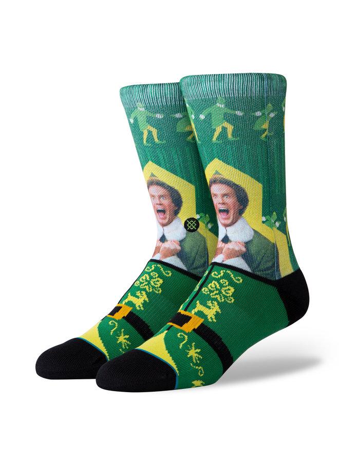 Stance Elf I Know Him Socks