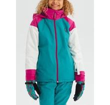 Girls' Burton Hart Jacket - Grn-Bl Slate Multi