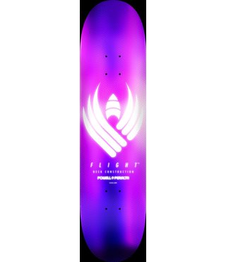Powell Peralta Flight Glow Purple 8.5 Skateboard Deck