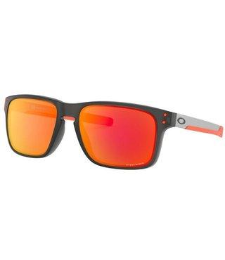 Oakley Holbrook™ Matte Grey Smoke Sunglasses w/ Prizm Ruby Lenses