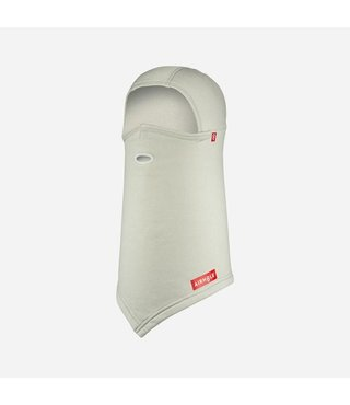 Balaclava Hinge Polar - Heather White