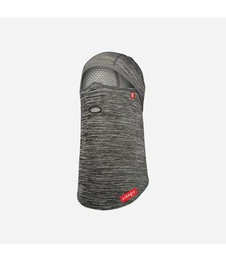 Balaclava Full Hinge Waffle Fleece - Tech Grey