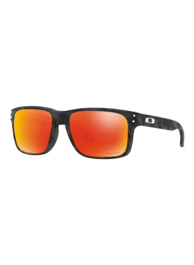 Holbrook™ Black Camo Sunglasses w/ Prizm Ruby Lens