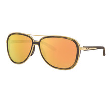 Split Time Brown Tortoise Sunglasses w/ Prizm Rose Gold Polarized Lens