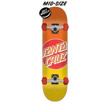 7.5in x 30.6in Process Dot Santa Cruz Skateboard Complete
