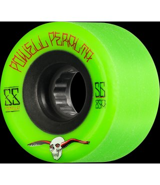 56mm Powell Peralta ATF 85A G-Slides Green Skateboard Wheels