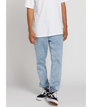 Volcom Frickin Slim Jogger Pants - Cloud Blue