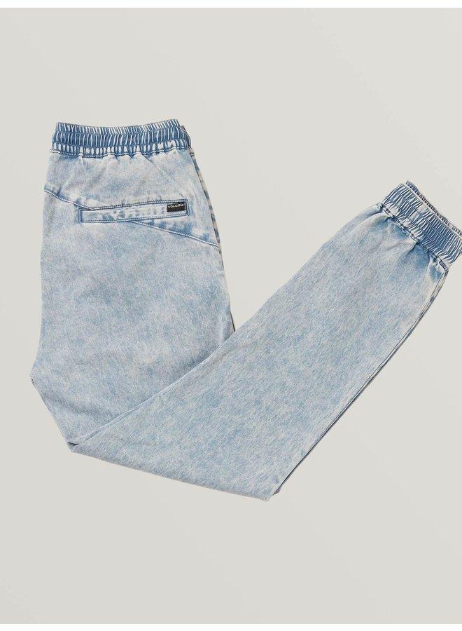 Volcom Frickin Slim Jogger Pants - Cloud Blue