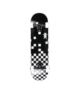 Grizzly Checkerboard 7.75 Skateboard Complete