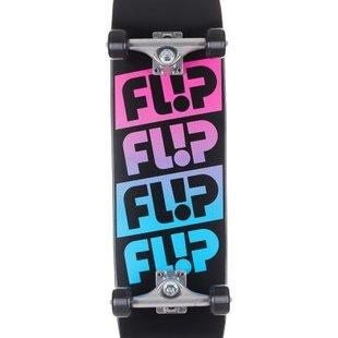 Flip Team Odyssey Fader 8.0 x 31.5 Pink Skateboard Complete