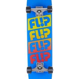 Flip Team Odyssey Fader 7.5 x 30.6 Yellow Skateboard Complete
