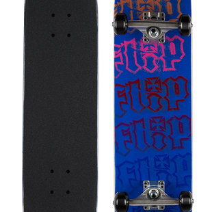 Flip Team HKD Spectrum 7.5 x 30.6 Blue Skateboard Complete