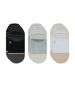 Stance Sensible No Show Socks 3 Pack - Multi