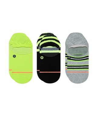 Stance The Volt No Show Socks 3 Pack - Green