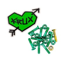 "Krux 1"" Hardware Krome Phillips - Green"