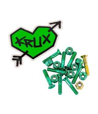 """Krux 1"""" Hardware Krome Phillips - Green"""