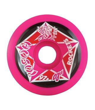 61mm OJ Hosoi Rocket Reissue Wheels 97a - Pink