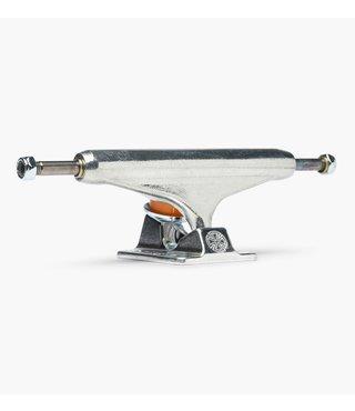 Independent Forged Titanium Silver 144 Skateboard Trucks - 2 Pack