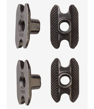 M6 Channel Inserts 4 Pack