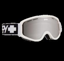 Spy Cadet Matte Wht w/ Bronze Silver Spectra Lens Snow Goggle