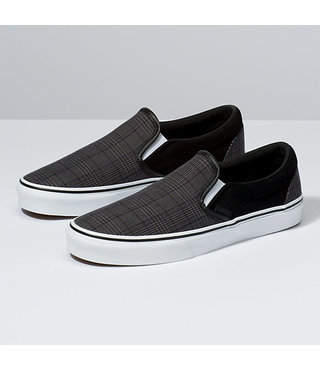 Vans Classic Slip On Shoes - Suiting Black