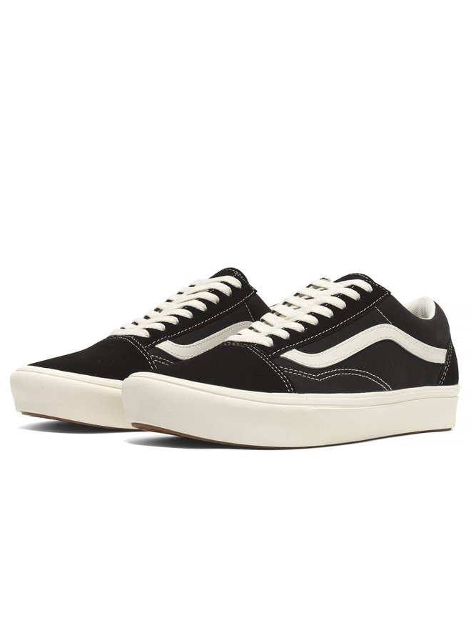 Old Skool Comfycush Men's Skate Shoes - Ripstop Blk