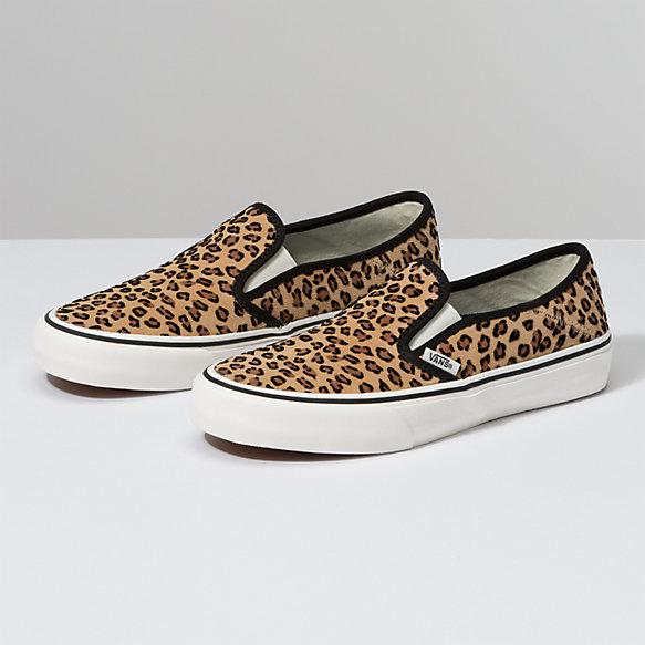 Vans Slip-On SF Shoes - Mini Leopard