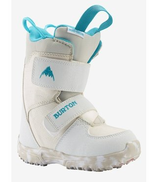 Toddler Burton Mini-Grom Snowboard Boot - White