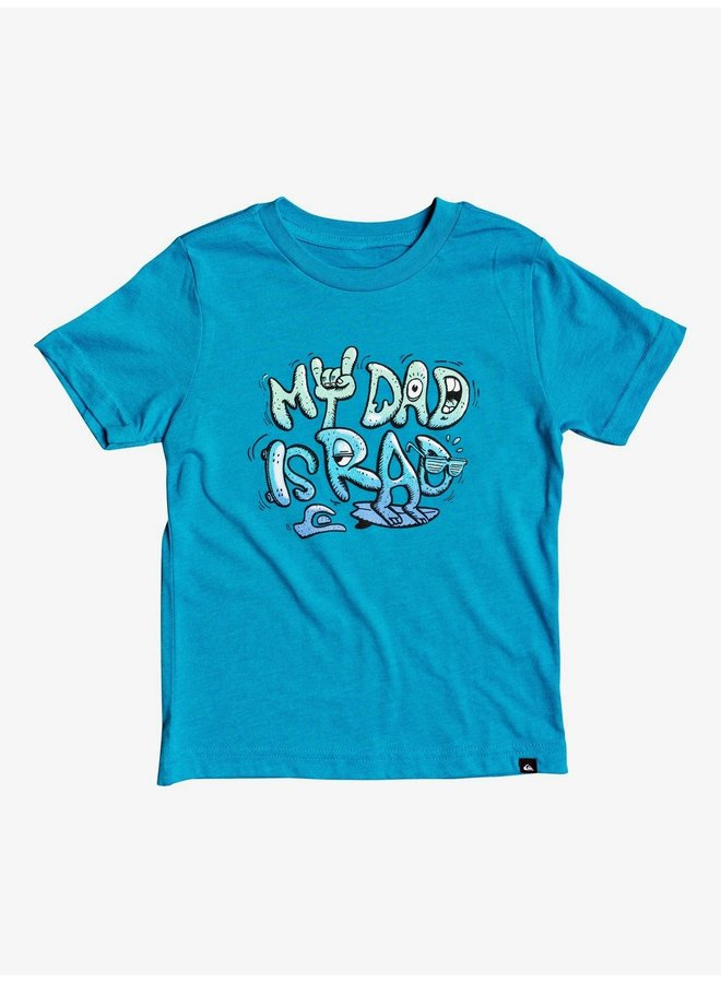 Boy's 2-7 Rad Dad T-Shirt - Car. Sea Hthr